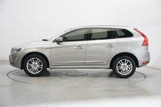 2014 Volvo XC60 DZ MY14 T5 Geartronic Luxury Beige 8 Speed Sports Automatic Wagon.