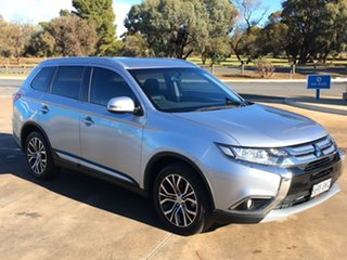 2016 Mitsubishi Outlander ZK MY16 LS 2WD Cool Silver 6 Speed Constant Variable Wagon