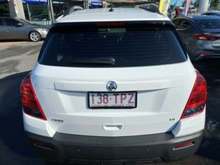 2013 Holden Trax TJ MY14 LS White 5 Speed Manual Wagon