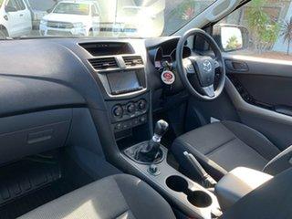 2018 Mazda BT-50 UR0YG1 XT Grey 6 Speed Manual Cab Chassis