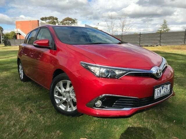 Used Toyota Corolla ZRE182R MY15 Ascent Sport Wangaratta, 2015 Toyota Corolla ZRE182R MY15 Ascent Sport Wildfire 7 Speed CVT Auto Sequential Hatchback
