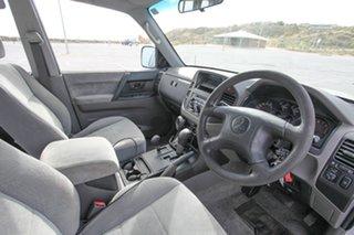 2001 Mitsubishi Pajero NM GLS Silver 5 Speed Sports Automatic Wagon