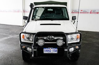 2012 Toyota Landcruiser VDJ79R MY12 Update GXL (4x4) French Vanilla 5 Speed Manual.