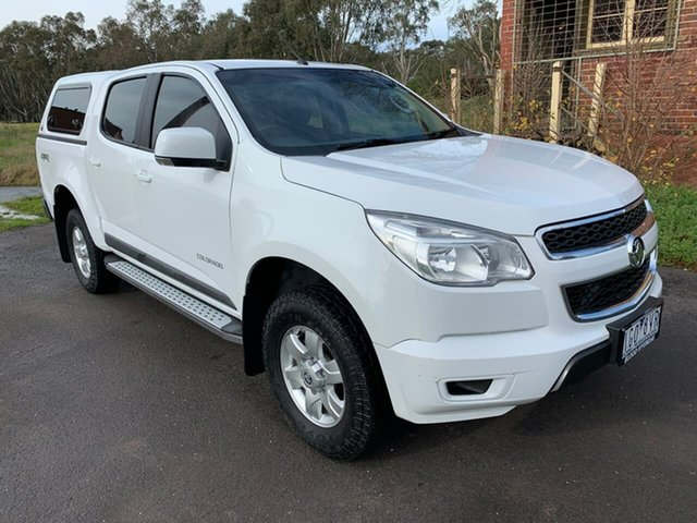 Used Holden Colorado RG LS Geelong, 2016 Holden Colorado RG LS White Sports Automatic Utility