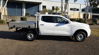 2016 Nissan Navara NP300 D23 RX (4x4) White 7 Speed Automatic Double Cab Utility.