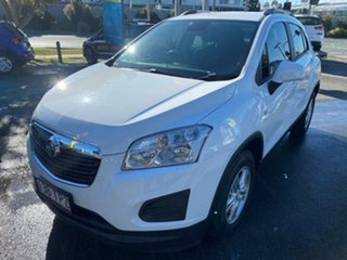 2013 Holden Trax TJ MY14 LS White 5 Speed Manual Wagon.