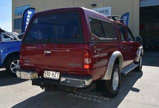 2004 Mazda B2500 Bravo SDX (4x4) Maroon 5 Speed Manual Dual Cab Pick-up.