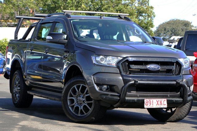 Used Ford Ranger PX MkII FX4 Double Cab Mount Gravatt, 2017 Ford Ranger PX MkII FX4 Double Cab Grey 6 Speed Sports Automatic Utility