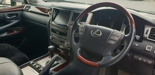 2013 Lexus LX URJ201R LX570 Black 6 Speed Sports Automatic Wagon