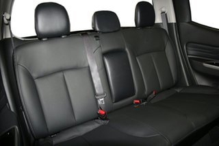 2021 Mitsubishi Triton MR MY21 GSR Double Cab Pitch Black 6 Speed Sports Automatic Utility