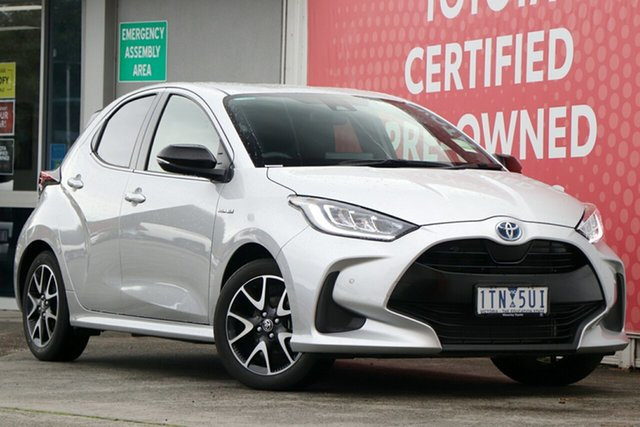 Pre-Owned Toyota Yaris Glen Waverley, Yaris Hybrid ZR 1.5L Auto CVT 5 Door Hatch