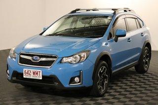 2016 Subaru XV G4X MY16 2.0i AWD Blue 6 speed Manual Wagon.