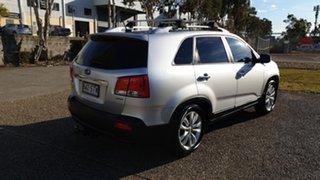 2012 Kia Sorento XM MY12 Platinum (4x4) Silver 6 Speed Automatic Wagon.