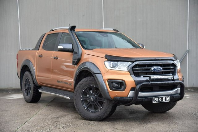 Used Ford Ranger PX MkIII 2020.75MY Wildtrak Oakleigh, 2020 Ford Ranger PX MkIII 2020.75MY Wildtrak Orange 6 Speed Sports Automatic Double Cab Pick Up
