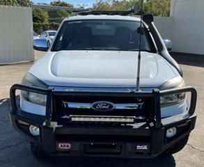 2010 Ford Ranger PK XLT Crew Cab White 5 Speed Automatic Utility.