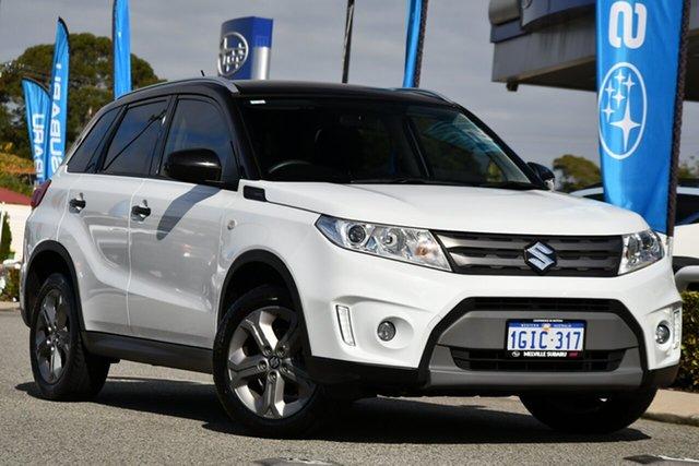 Used Suzuki Vitara LY RT-S 2WD Melville, 2017 Suzuki Vitara LY RT-S 2WD White 6 Speed Sports Automatic Wagon
