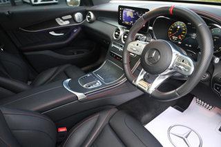 2020 Mercedes-Benz GLC-Class X253 800+050MY GLC43 AMG SPEEDSHIFT TCT 4MATIC Obsidian Black 9 Speed.