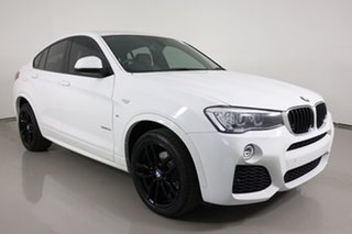 2016 BMW X4 F26 MY16 xDrive 20I White 8 Speed Automatic Coupe.