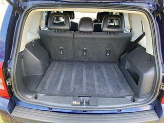 2012 Jeep Patriot MK MY2012 Sport CVT Auto Stick 4x2 Blue 6 Speed Constant Variable Wagon