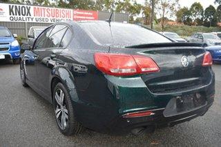 2015 Holden Commodore VF MY15 SV6 Storm Regal Peacock Green 6 Speed Sports Automatic Sedan.