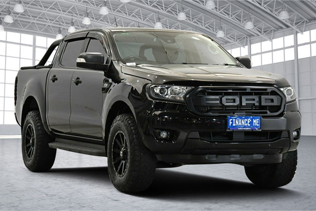 Used Ford Ranger PX MkIII 2019.75MY XLT Victoria Park, 2019 Ford Ranger PX MkIII 2019.75MY XLT Black 6 Speed Sports Automatic Double Cab Pick Up