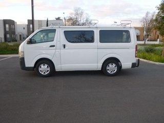 2006 Toyota HiAce KDH200R LWB White 5 Speed Manual Van.