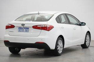 2015 Kia Cerato YD MY15 S Premium White 6 Speed Sports Automatic Sedan
