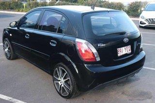 2010 Kia Rio JB MY10 S Midnight Black 4 Speed Automatic Hatchback