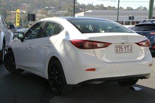 2016 Mazda 3 BM5236 SP25 SKYACTIV-MT White 6 Speed Manual Sedan.