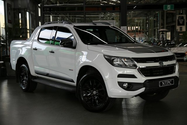 Used Holden Colorado RG MY19 Z71 Pickup Crew Cab North Melbourne, 2019 Holden Colorado RG MY19 Z71 Pickup Crew Cab White 6 Speed Sports Automatic Utility