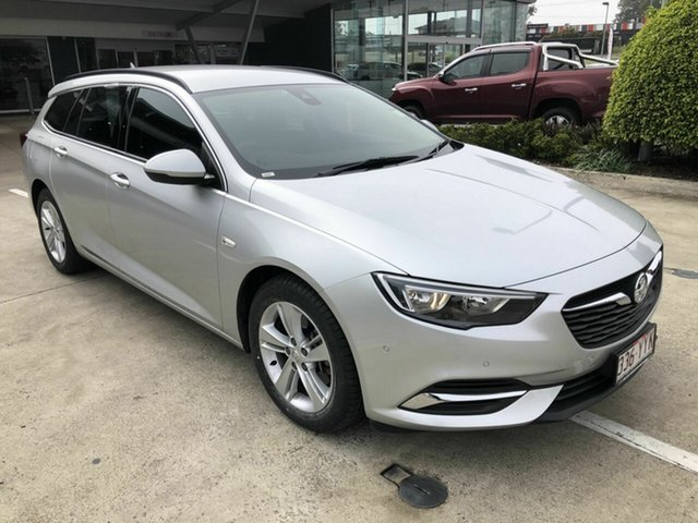 Used Holden Commodore ZB MY18 LT Sportwagon Yamanto, 2017 Holden Commodore ZB MY18 LT Sportwagon Silver 9 Speed Sports Automatic Wagon