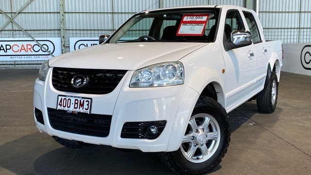 Used Great Wall V240 K2 MY11 Rocklea, 2011 Great Wall V240 K2 MY11 White 5 Speed Manual Utility
