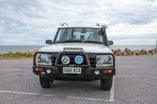 2002 Land Rover Discovery 03MY Td5 White 4 Speed Automatic Wagon