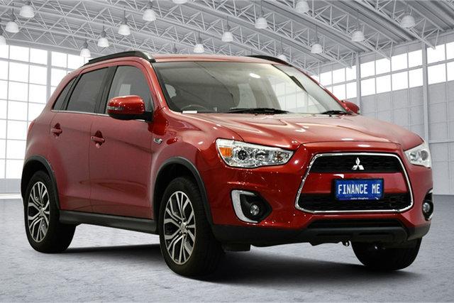 Used Mitsubishi ASX XC MY17 LS 2WD Victoria Park, 2016 Mitsubishi ASX XC MY17 LS 2WD Red 6 Speed Constant Variable Wagon
