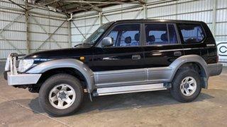1997 Toyota Landcruiser Prado VZJ95R RV6 Black 4 Speed Automatic Wagon.