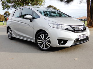 2016 Honda Jazz GF MY16 VTi-L Silver 1 Speed Constant Variable Hatchback.