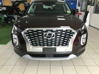 2020 Hyundai Palisade LX2.V1 MY21 2WD Sierra Burgundy 8 Speed Sports Automatic Wagon.