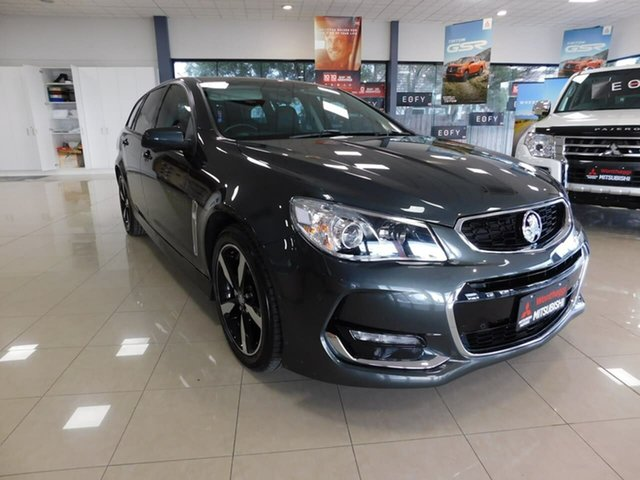 Pre-Owned Holden Commodore VF II MY17 SV6 Sportwagon Wonthaggi, 2017 Holden Commodore VF II MY17 SV6 Sportwagon Grey 6 Speed Sports Automatic Wagon