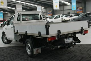 2014 Toyota Hilux TGN16R MY12 Workmate White 4 Speed Automatic Cab Chassis.