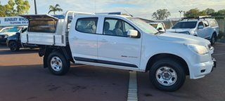 2014 Holden Colorado RG MY14 LX Space Cab White 6 Speed Manual Cab Chassis