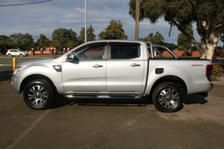 2012 Ford Ranger PX XLT 3.2 Hi-Rider (4x2) Silver 6 Speed Automatic Crew Cab Pickup