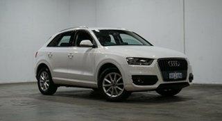2014 Audi Q3 8U MY14 TFSI S Tronic White 6 Speed Sports Automatic Dual Clutch Wagon.