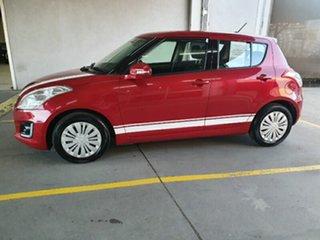 2014 Suzuki Swift FZ MY15 GL Navigator Red 4 Speed Automatic Hatchback.