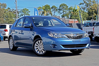 2007 Subaru Impreza G3 MY08 RX AWD Newport Blue Pearl 5 Speed Manual Hatchback.