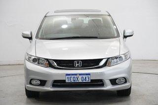 2014 Honda Civic 9th Gen Ser II MY15 Sport Silver 5 Speed Sports Automatic Sedan.