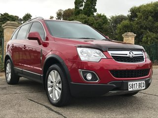2014 Holden Captiva CG MY15 5 LT Red 6 Speed Sports Automatic Wagon.