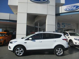 2019 Ford Escape ZG MY19.75 Trend (FWD) White 6 Speed Automatic SUV.