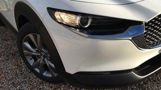 2021 Mazda CX-30 DM2W7A G20 SKYACTIV-Drive Evolve White Pearl 6 Speed Sports Automatic Wagon.