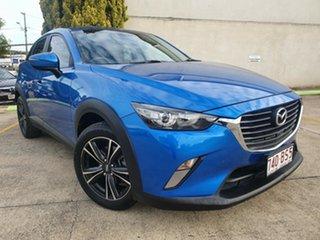 2015 Mazda CX-3 DK4W7A Maxx SKYACTIV-Drive i-ACTIV AWD Blue 6 Speed Sports Automatic Wagon.