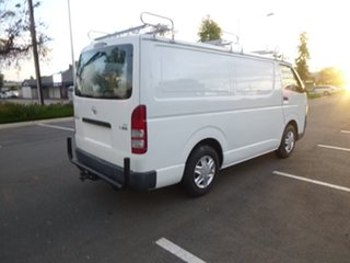 2006 Toyota HiAce KDH200R LWB White 5 Speed Manual Van